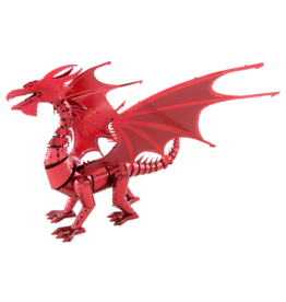 METAL EARTH ICX115 RED DRAGON - COLOR (3  SHEETS)