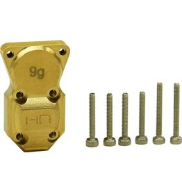HOT RACING HRASXTF12CH BRASS DIFFERENTIAL COVER SCX24