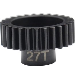 HOT RACING HRANSG3227 27 TOOTH STEEL 32 PITCH PINION GEAR 5MM BORE
