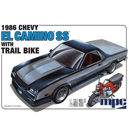 MPC MPC888 1/25 1986 CHEVY EL CAMINO SS W/ DIRT BIKE