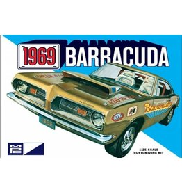 MPC MPC832 1/25 1969 PLYMOUTH BARRACUDA