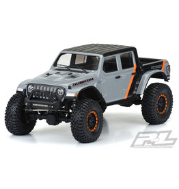 "PROLINE RACING PRO353500 JEEP GLADIATOR RUBICON CLEAR CRAWLER BODY 12.3"" OR 313MM WHEEL BASE"