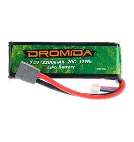 DROMIDA DIDE1235 2200mAH 2S 7.4V LIPO