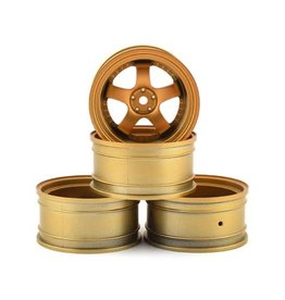 MST MXS-832052GD GOLD SP1 WHEEL SET +9 OFFSET