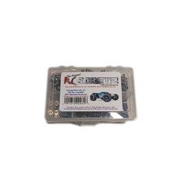 RC SCREWZ RCZTRA082 STAINLESS STEEL SCREW KIT: E-REVO 2.0