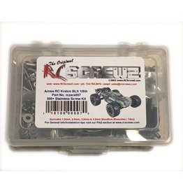 RC SCREWZ RCZARA007 STAINLESS STEEL SCREW KIT: KRATON BLX 6S