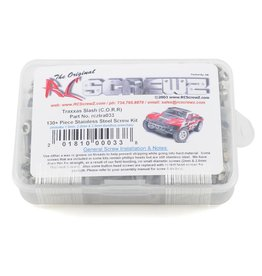 RC SCREWZ RCZTRA033  STAINLESS STEEL SCREW KIT: SLASH 2WD
