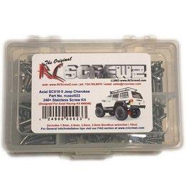 RC SCREWZ RCZAXI023 STAINLESS STEEL SCREW KIT: SCX10 II
