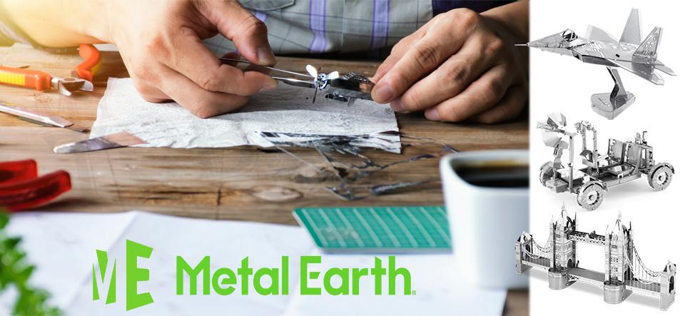 Metal Earth at My Tobbies