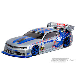 PROTOFORM PRO154430 CHEVY CAMARO Z/28 CLEAR BODY, 190MM : TOURING CAR