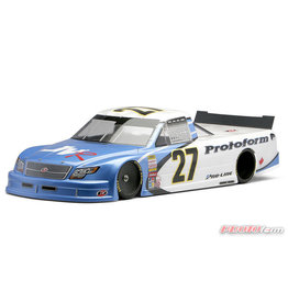 PROTOFORM PRO122721 ORT OVAL RACE TRUCK BODY, CLEAR