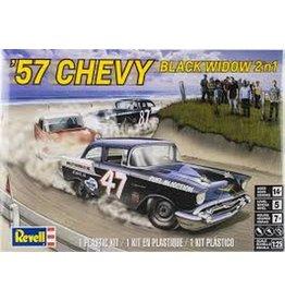 REVELL RMX854441 1/25 1957 CHEVY BLACK WIDOW 2N1