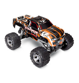 TRAXXAS TRA36054-4ORNG STAMPEDE®: 1/10 SCALE MONSTER TRUCK WITH TQ 2.4GHZ RADIO SYSTEM: ORANGE