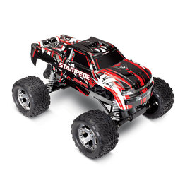 TRAXXAS TRA36054-4RED STAMPEDE®: 1/10 SCALE MONSTER TRUCK WITH TQ 2.4GHZ RADIO SYSTEM: RED