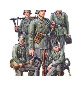 TAMIYA TAM35371 1/35 SCALE GERMAN INFANTRY SET MID WW2
