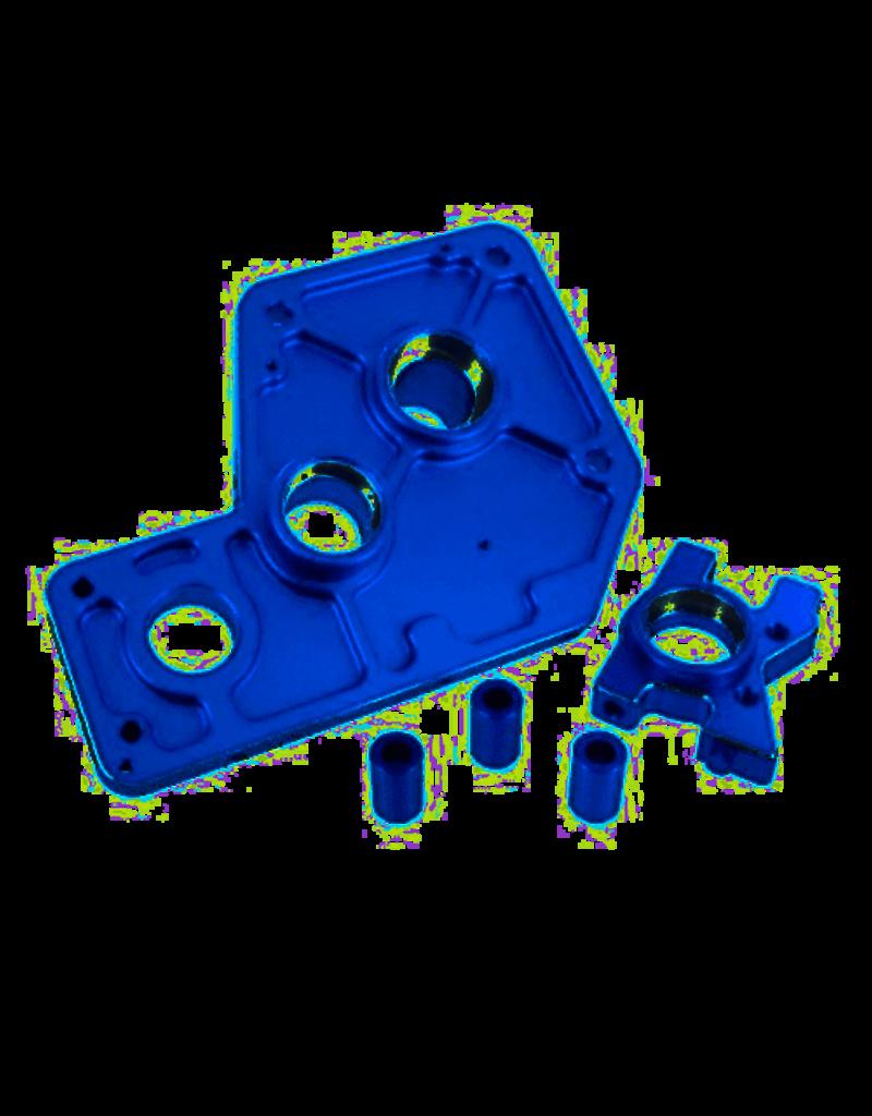 REDCAT RACING 050004 BLUE ALUMINUM GEAR MOUNT