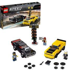LEGO LEGO 75893 SPEED CHAMPIONS '18 DODGE CHALLENGER SRT DEMON & '70 CHARGER