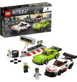 LEGO LEGO 75888 SPEED CHAMPIONS PORSCHE 911 RSR AND PORSCHE 911 TURBO 3.0