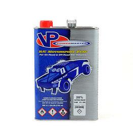 VP RACING POW4496108 POWERMASTER 20% GALLON CAR NITRO FUEL