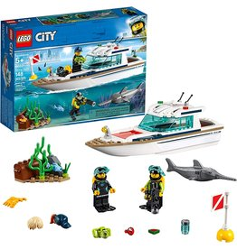 LEGO LEGO 60221 CITY DIVING YACHT