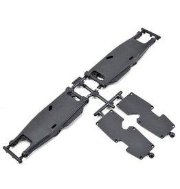 SWORKZ SWX-2502038A S350T REAR LOWER ARM SET +3MM SET