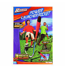 BANZAI POWER LAUNCH ROCKET 25714