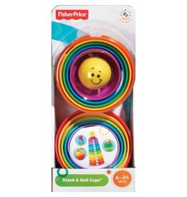 FISHER PRICE FP K7166 STACK & ROLL CUPS