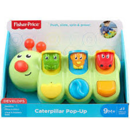 FISHER PRICE FP GFR51 CATERPILLAR POP-UP