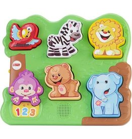 FISHER PRICE FP CGM43/CGM42 L&L LEARNING PUZZLE: GREEN