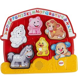 FISHER PRICE FP CGM43/CGM35 L&L LEARNING PUZZLE: RED