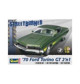 REVELL RMX854099 1/25 1970 FORD TORINO GT 2 'N 1 KIT