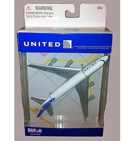 REALTOY RT6264 UNITED AIRLINES 747 PLANE