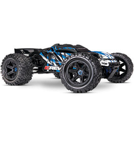 TRAXXAS TRA86086-4 BLUE E-REVO 2.0 4WD MONSTER TRUCK