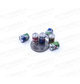 RC PIT PRODUCTS MY TOBBIES SCALE SIX PACK SODA