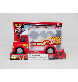 IMEX IMX14713 8 PCS FIRE TRUCK REPAIR SET