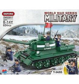 IMEX OXF33017 WW2 T-34 TANK 634PCS