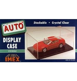 IMEX IMX2511 1/18 SCALE BLACK BASE DISPLAY CASE