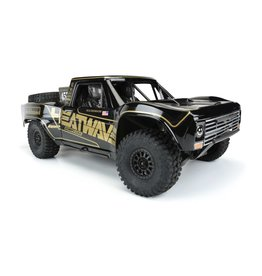 PROLINE RACING PRO354718 PAINTED PRE CUT 67 FORD F-100 BLACK DESERT RACER