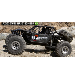 AXIAL AXI03016T2 RR10 BOMBER 1/10TH 4WD RTR GREY
