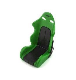 SIDEWAYS RC SDW-BSEATV2-GR SCALE DRIFT BUCKET SEAT V2 GREEN