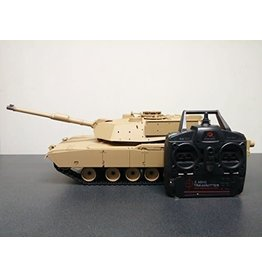 HENG LONG HEN3918HL M1A2 ABRAMS 1/16 SCALE RC MAIN BATTLE TANK