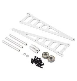 STRC SPTST3678WS ALUMINIUM ADJUSTABLE WHEELIE BAR KIT-TRA: SILVER