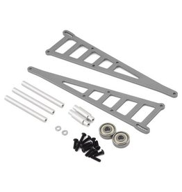 STRC STRST3678WGM ALUMINIM ADJUSTABLE WHEELIE BAR KIT-TRA: GUN METAL