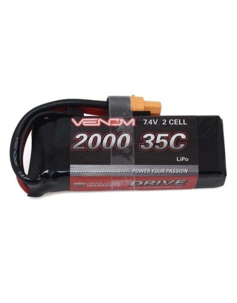 VENOM VNR15107 35C 2S 3300MAH 7.4V LIPO BATTERY