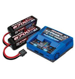 TRAXXAS TRA2997 4S LIPO/ DUAL CHARGER COMPLETER PACK