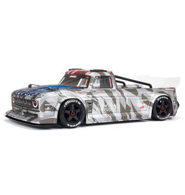 ARRMA ARA7615V2T2 INFRACTION 6S BLX 1/7 ALL-ROAD TRUCK: SILVER