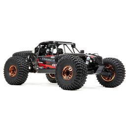LOSI LOS03028T2 LASERNUT U4 BLACK, SMART ESC: 1/10 4WD RTR