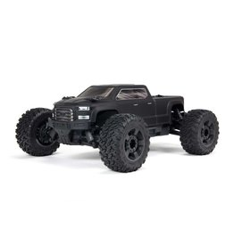 ARRMA ARA4312V3 BIG ROCK CREW CAB 4X4 3S BLX BRUSHLESS 1/10 MONSTER TRUCK (BLACK)
