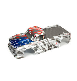 ARRMA ARA410006 INFRACTION 6S BLX PAINTED BODY SILVER/RED