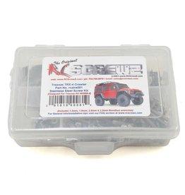 RC SCREWZ RCZTRA081 TRAXXAS TRX-4 STAINLESS STEEL SCREW KIT